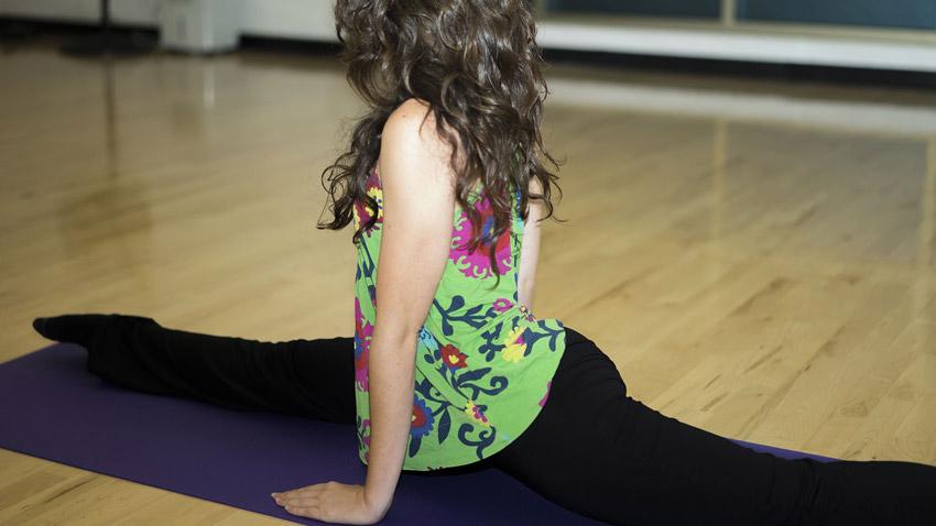 Legen Sie Ihre Sport und Gymnastikmatte immer rutschsicher auf den Boden